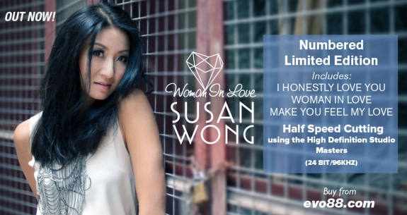 Susan Wong - Woman In Love LP