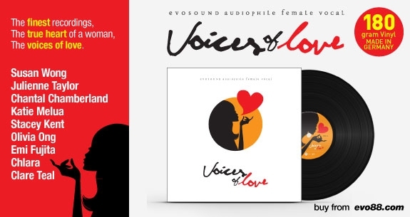 Evosound Audiophile Female Vocal -- Voices of Love (2LP)